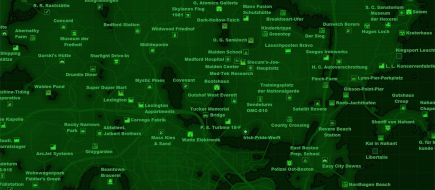 fallout 4 bobblehead map all bobblehead locations