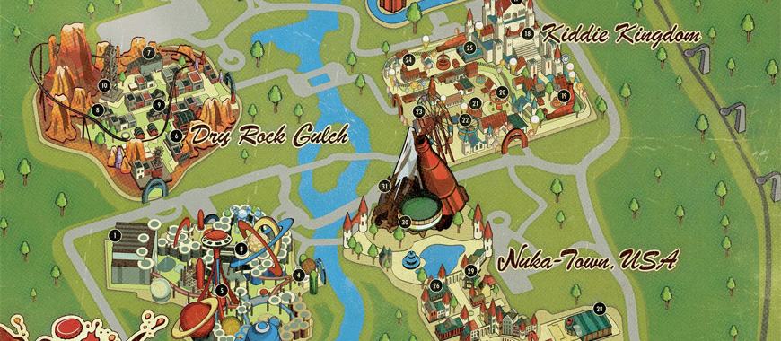 Fallout 4 Nuka World Maps All Locations