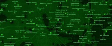 Fallout 4 Maps - Commonwealth Maps, Vaults, Armor, Bobbleheads on
