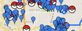 Pokemon Go Maps Georgia Atlanta Athens